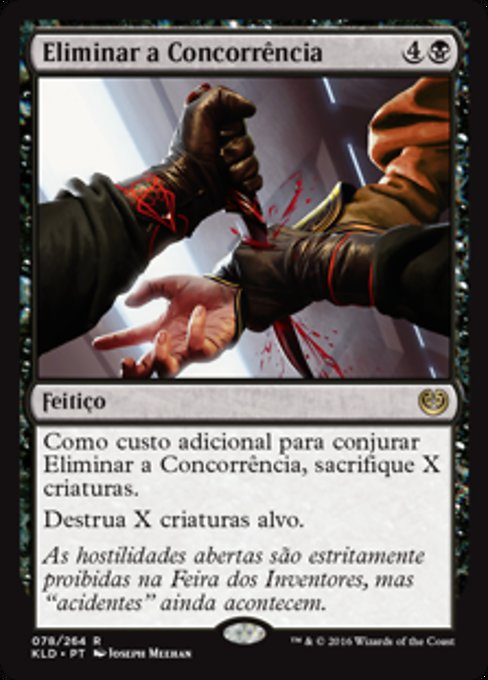 Eliminate the Competition (KLD)