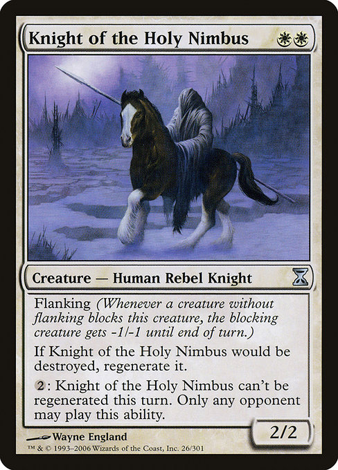 Knight of the Holy Nimbus (TSP)