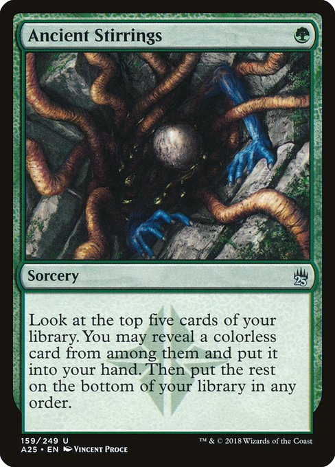 Ancient Stirrings - Magic: the Gathering