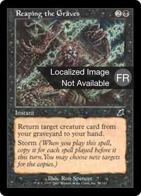 Reaping the Graves (SCG)