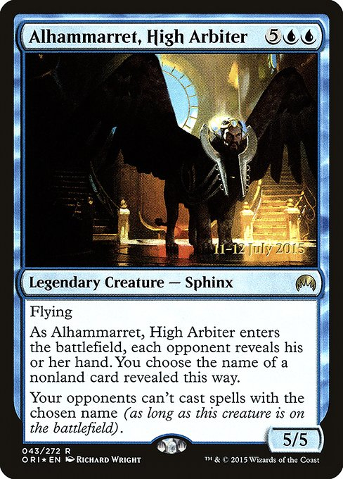 Alhammarret, High Arbiter (PORI)
