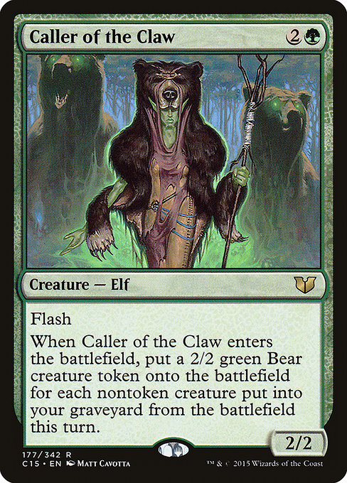 Caller of the Claw (C15)
