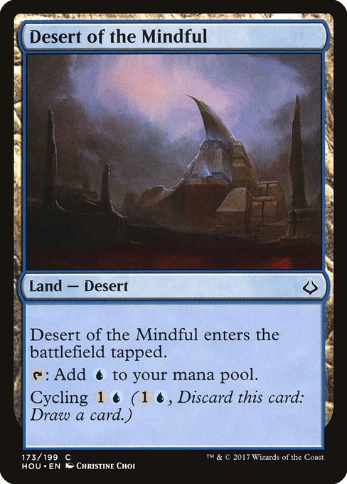 Desert of the Mindful (HOU)