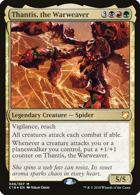 Thantis, the Warweaver (C18)