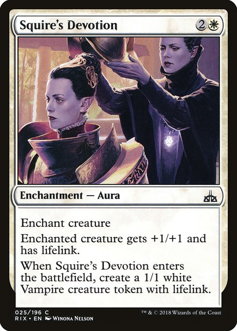 Squire's Devotion (RIX)