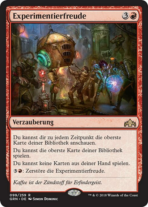 Experimental Frenzy (GRN)