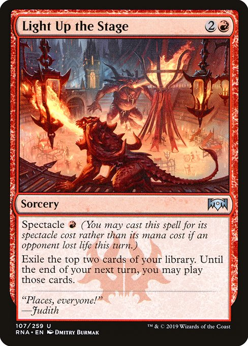 Light Up the Stage - Magic: the Gathering