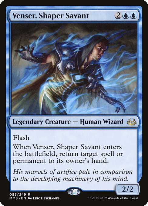 Venser, Shaper Savant (MM3)