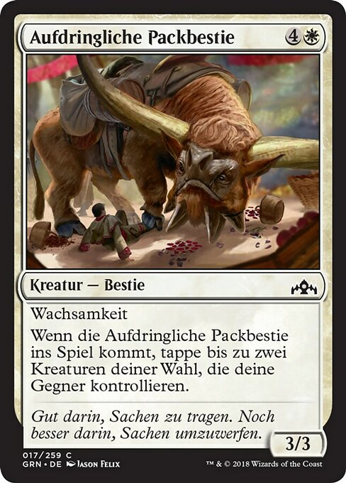 Intrusive Packbeast (GRN)