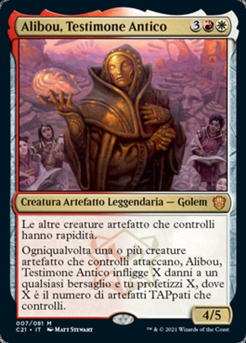 Alibou, Ancient Witness (C21)