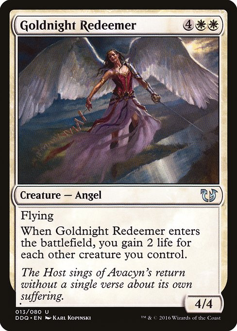 Goldnight Redeemer (DDQ)