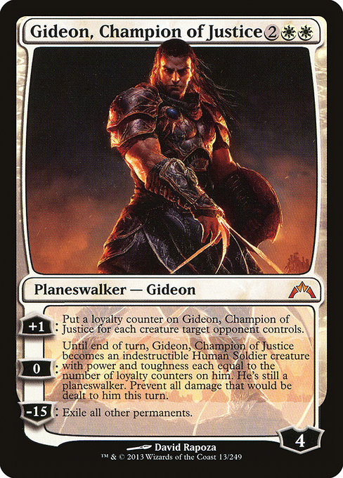Gideon, Champion of Justice (GTC)