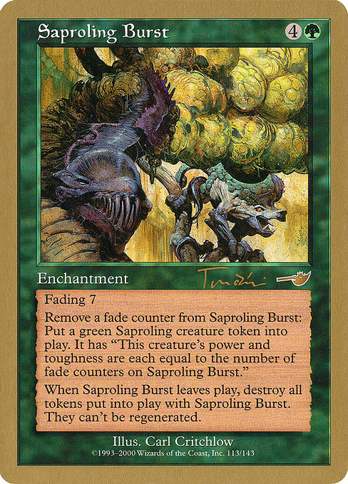 Saproling Burst (WC01)