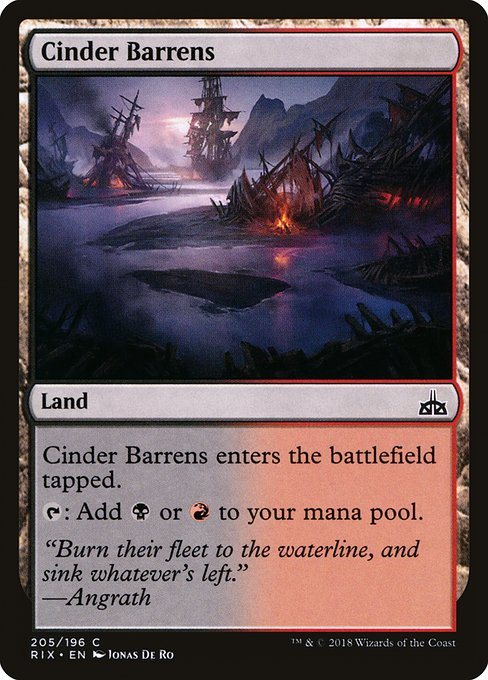 Cinder Barrens (RIX)