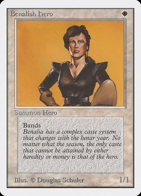 Benalish Hero (2ED)