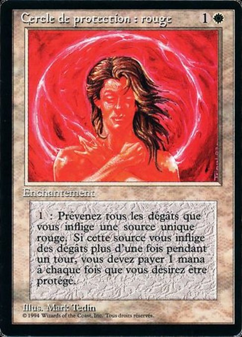 Circle of Protection: Red (FBB)