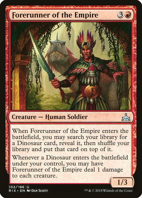 Forerunner of the Empire (RIX)