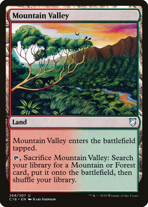 Mountain Valley (C18)
