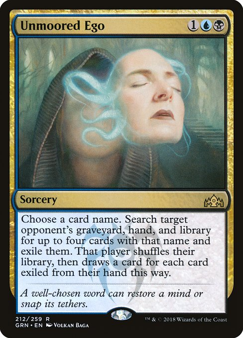 Unmoored Ego (GRN)
