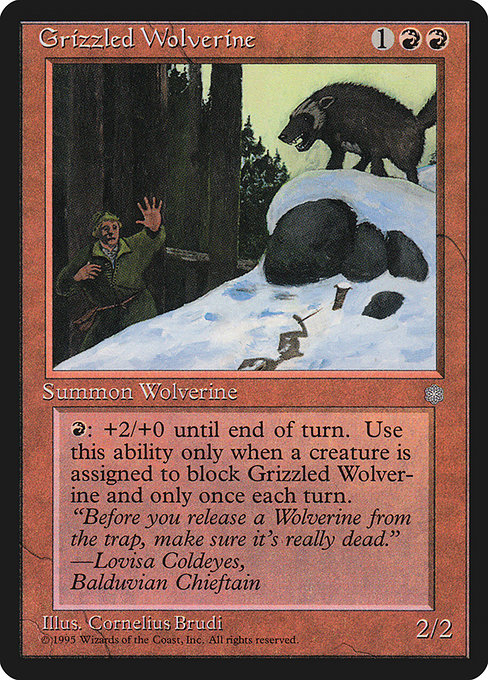 Grizzled Wolverine (ICE)