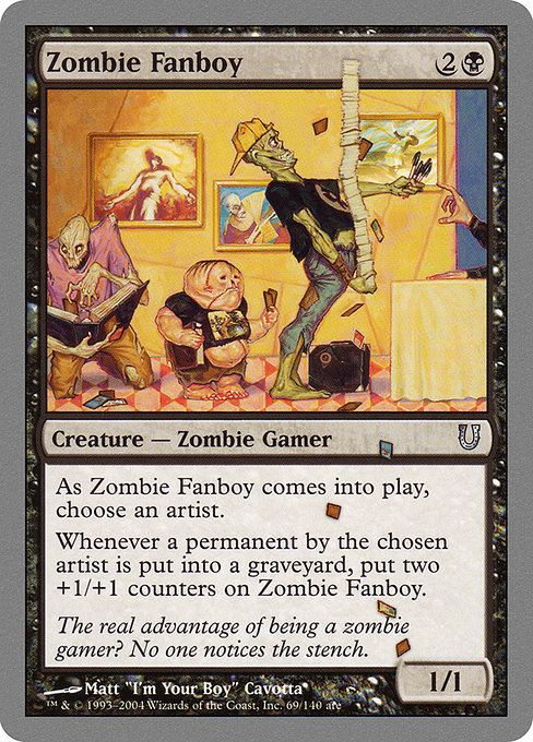 Zombie Fanboy (UNH)