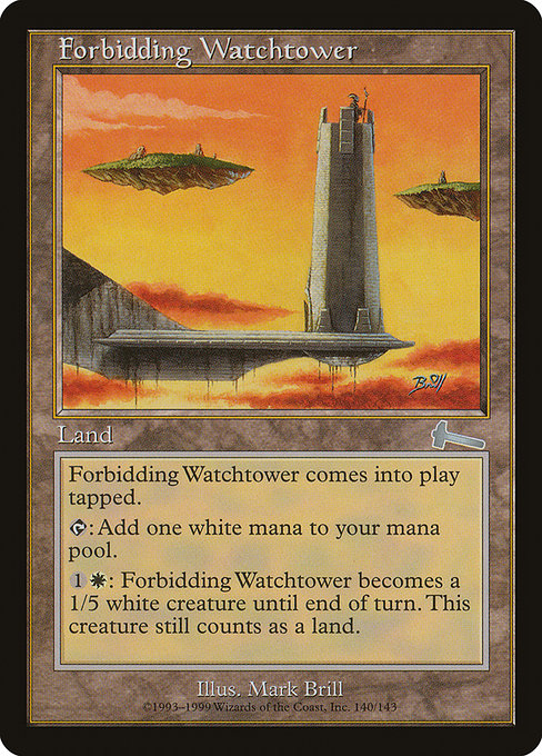Forbidding Watchtower (ULG)