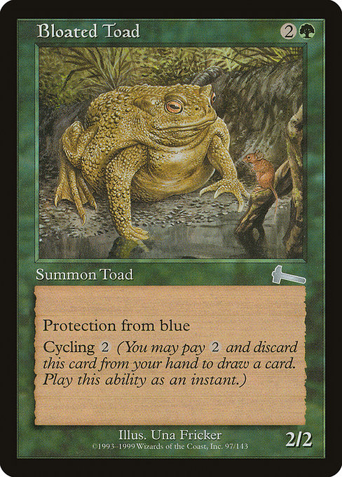 Bloated Toad (ULG)