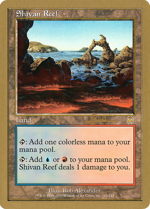 Shivan Reef (WC01)