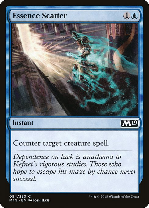 Essence Scatter (M19)