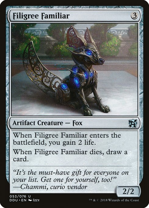 Filigree Familiar (DDU)