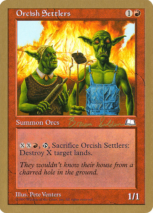 Orcish Settlers (WC98)