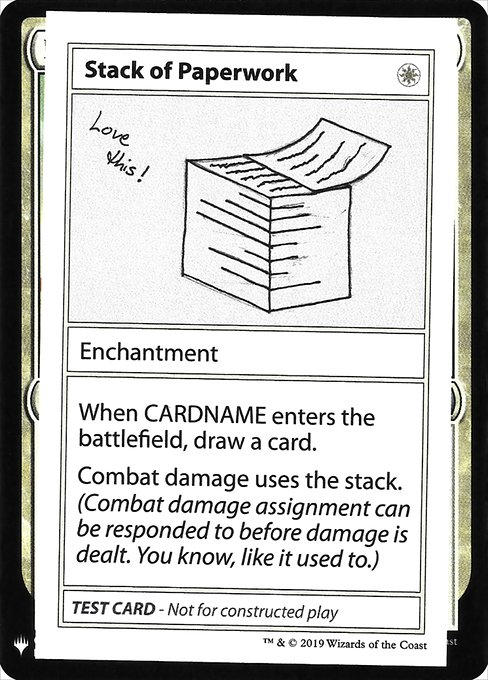 Stack of Paperwork (CMB1)
