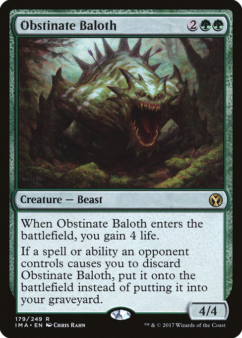 Obstinate Baloth (IMA)