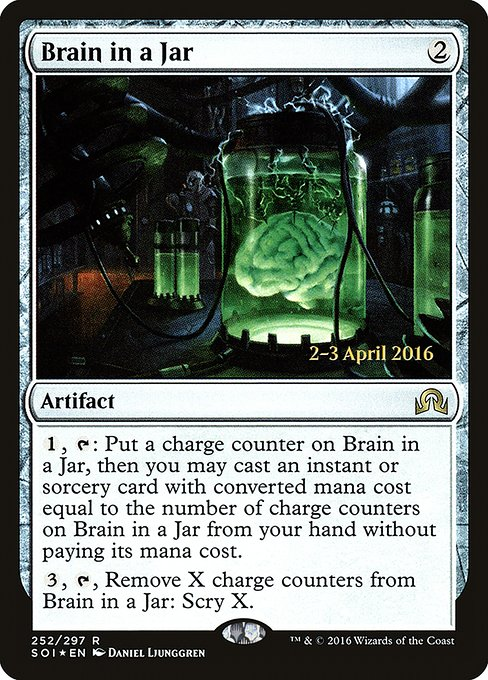 Brain in a Jar (PSOI)