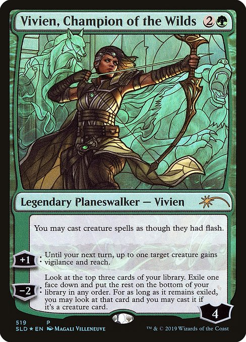 Vivien, Champion of the Wilds (PSLD)