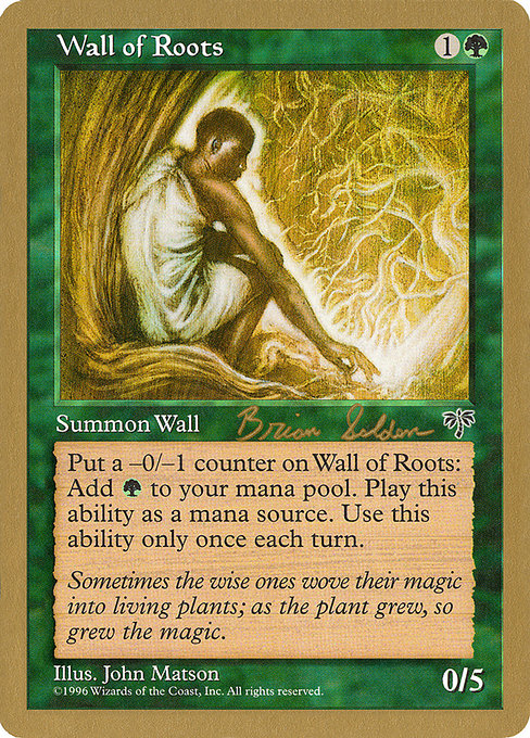 Wall of Roots (WC98)