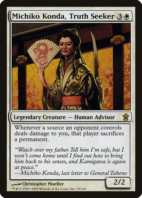 Michiko Konda, Truth Seeker (SOK)