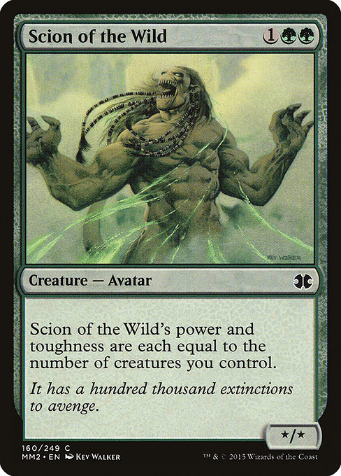 Scion of the Wild (MM2)