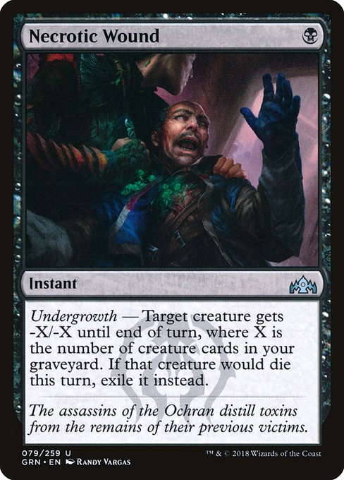 Necrotic Wound (GRN)