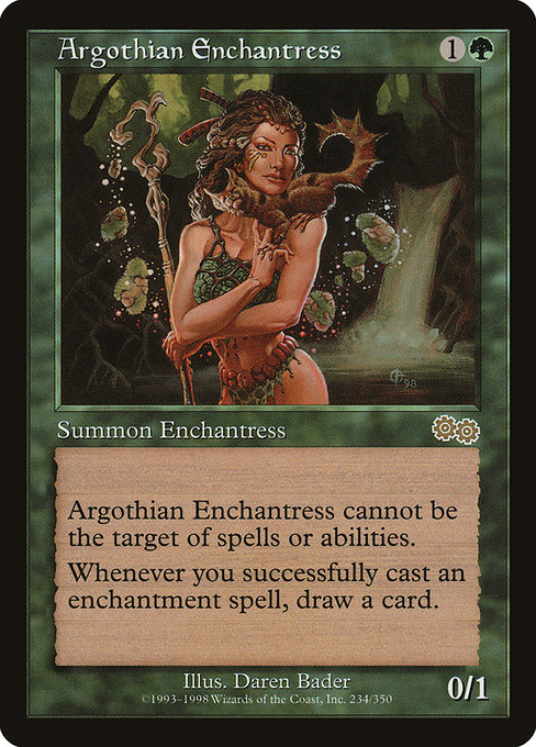 Argothian Enchantress (USG)