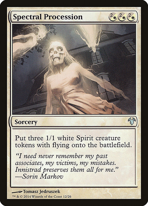 Spectral Procession (MD1)