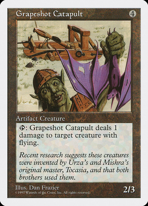 Grapeshot Catapult (5ED)