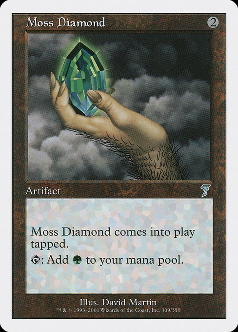 Moss Diamond (7ED)