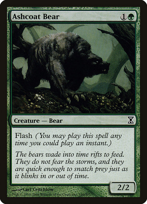 Ashcoat Bear (TSP)