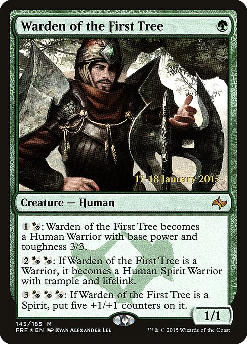 Warden of the First Tree (PFRF)
