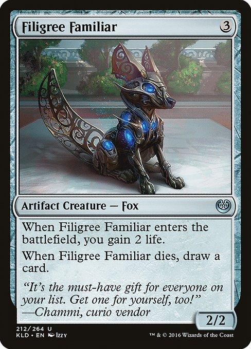 Filigree Familiar (KLD)