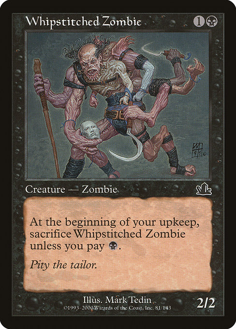 Whipstitched Zombie (PCY)