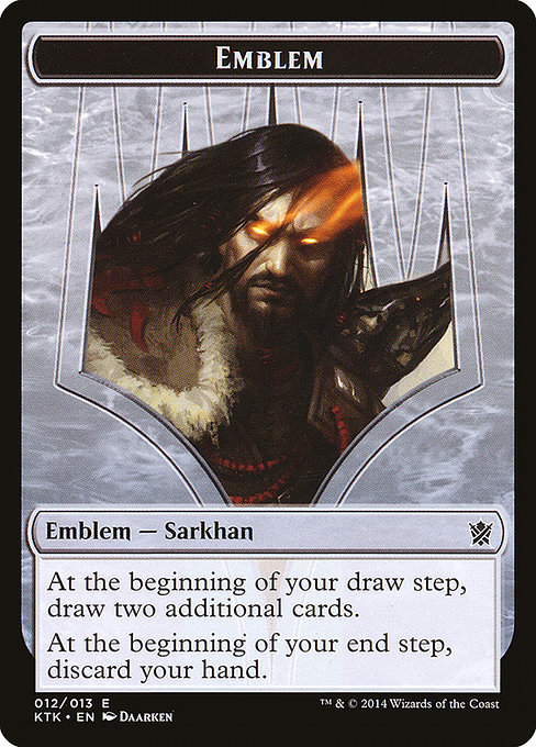 Sarkhan, the Dragonspeaker Emblem (TKTK)