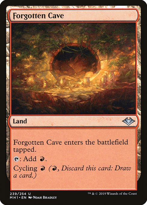 Forgotten Cave (MH1)