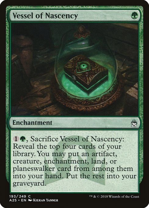 Vessel of Nascency (A25)